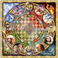 Zodiac Mandala, HAECRM16
