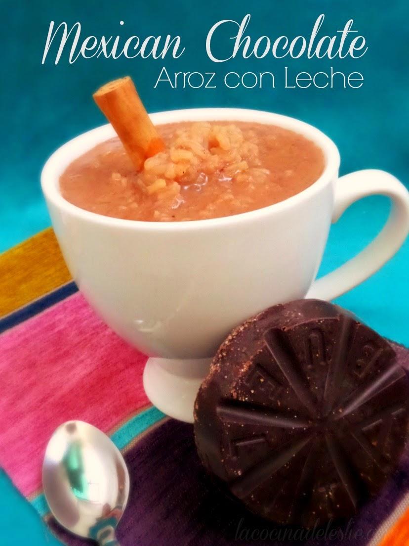 Arroz con Leche con Chocolate Mexicano - lacocinadeleslie.com