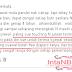 Komen dari rakan blogger yang buat saya rasa tersentuh