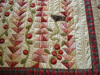 Another Experiment With Both Machine and Hand Quilting