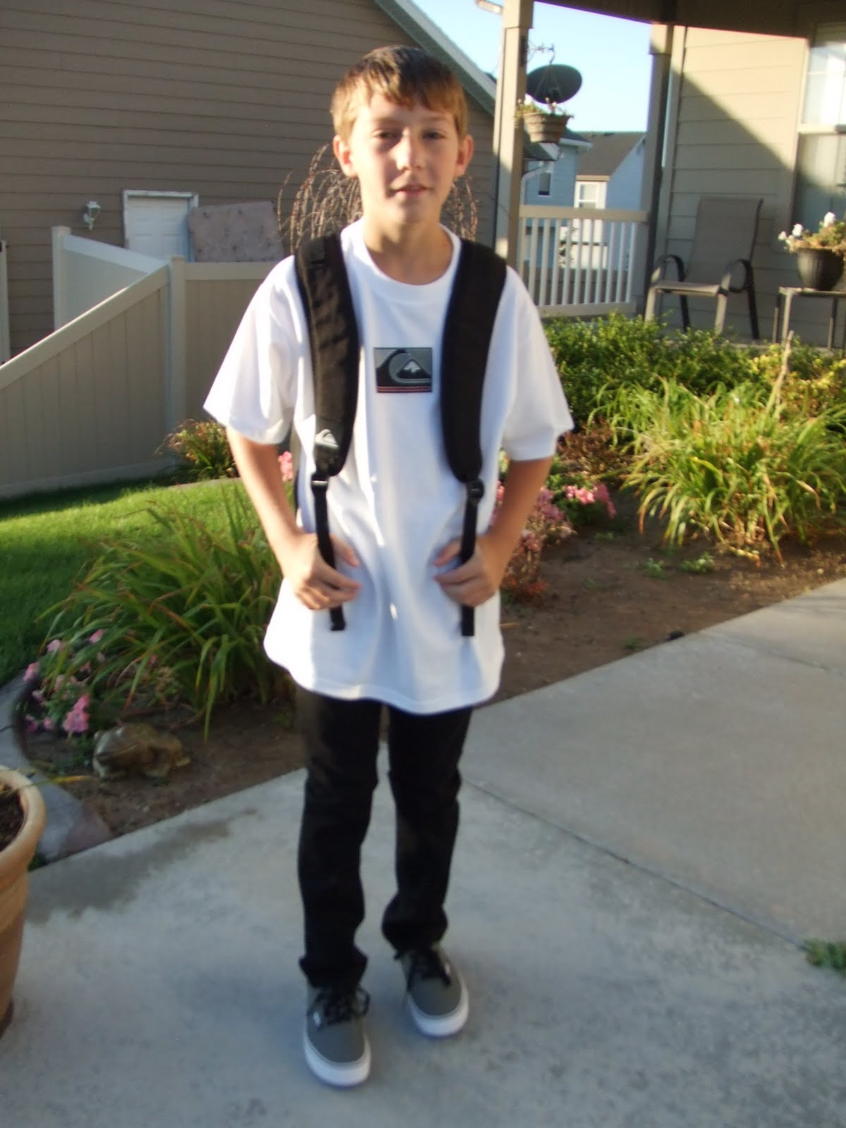 Cute 6th grade boys the starkey six first day of school 2011 first