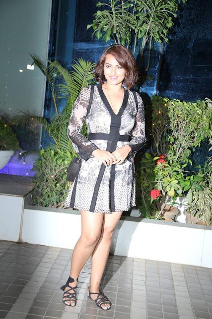 Sonakshi Sinha Stills At The Magic Of Giving Movie Special Screening