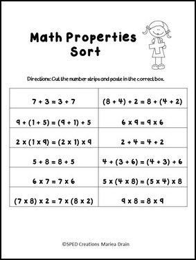 math worksheet : the best of teacher entrepreneurs ii free math lesson  u201cworking  : Commutative And Associative Properties Of Addition Worksheets