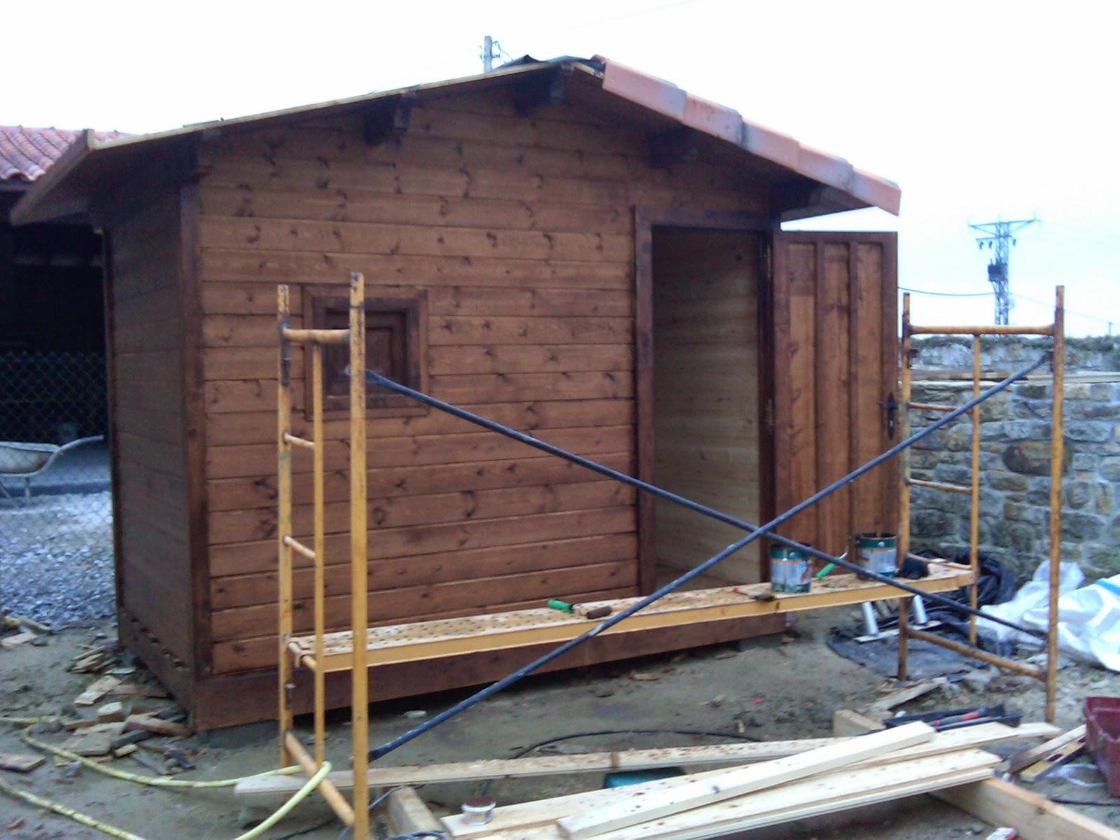 Carpinteria de armar caseta de madera - Hacer caseta de madera ...