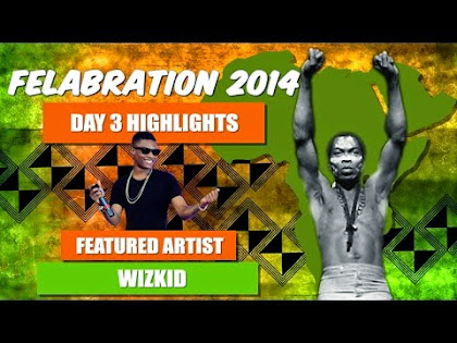 Wizkid Performance At The Felabration 2014 Concert