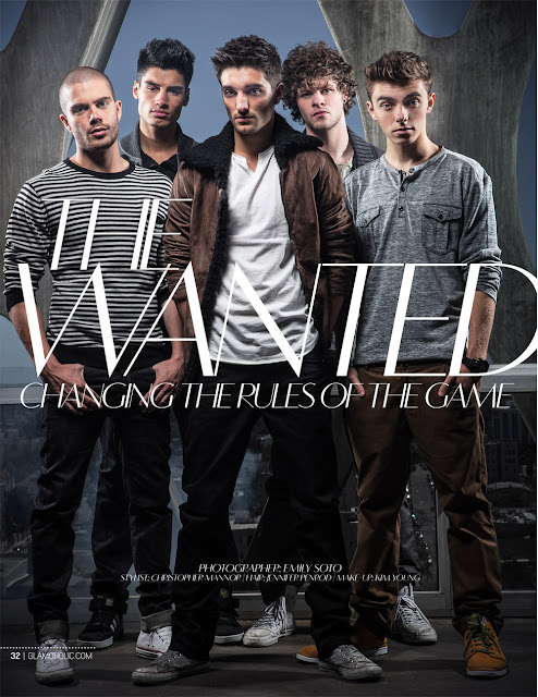 Max, Siva, Tom, Jay, Nathan do The Wanted