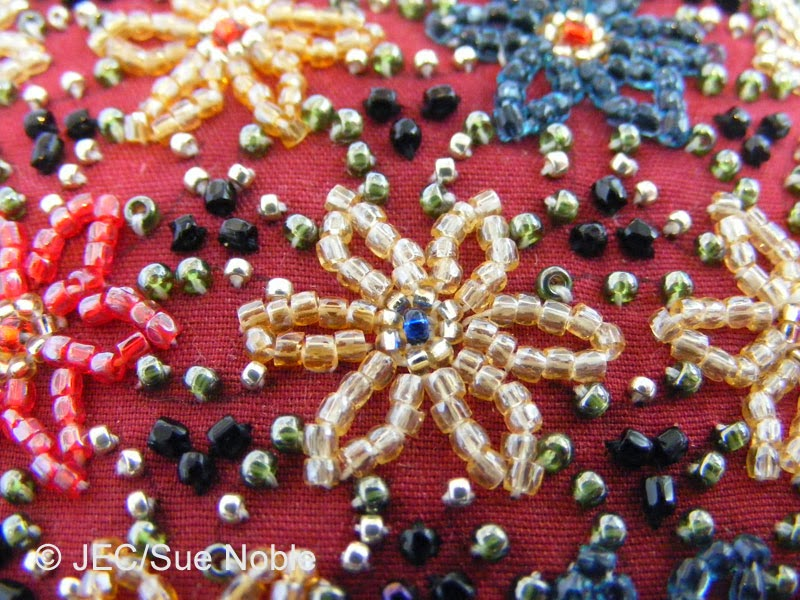 Japanese embroidery beading comes to the north west
