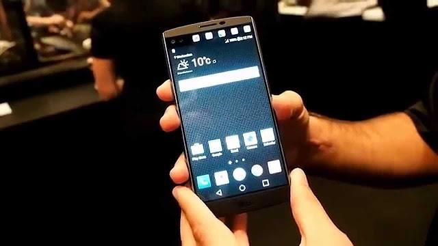 HARGA MENCAPAI 9 JUTA, LG V10 GUNAKAN DUA LAYAR LCD