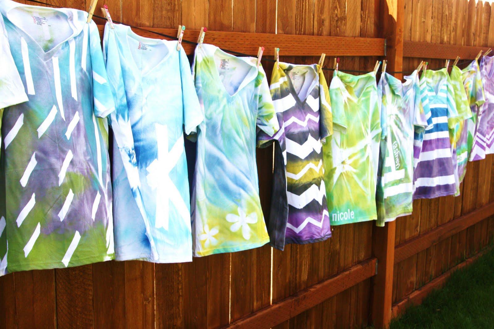 T Shirt Spray Paint Ideas Bcd Tofu House