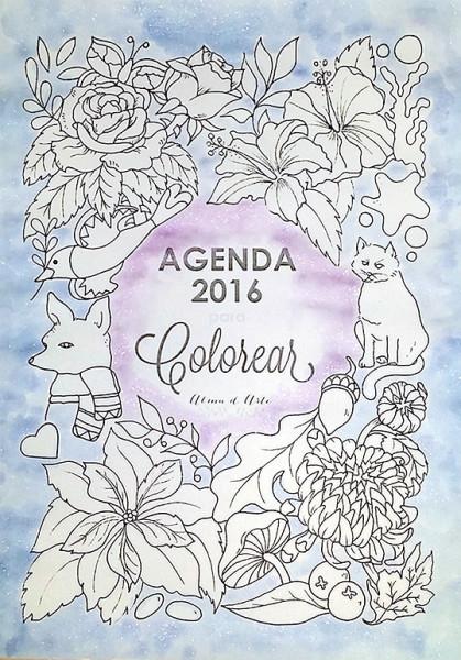 Agenda para Colorear Mayonako