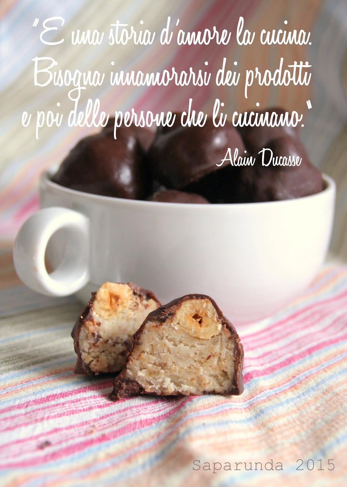baci cioccolato bianco ricetta