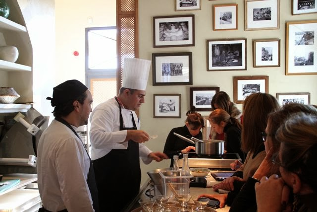 Cocinando en el Restaurante Du Liban. Blog Esteban Capdevila