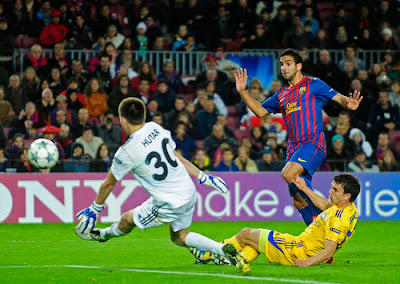 Barcelona 4 - 0 BATE Borisov (3)