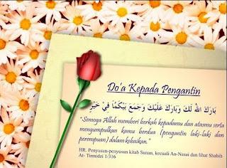 Kata Kata Ucapan Selamat Pernikahan + Doa Pernikahan