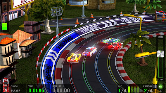 HTR+ Slot Car Simulation ScreenShot 01
