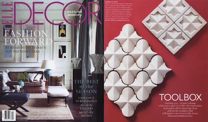 Couture Tiles - La Terre Collection title=