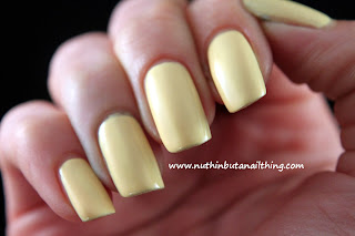 Sinful Colors Unicorn pale yellow nail polish