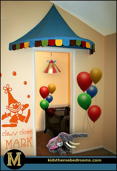 circus bedroom ideas - circus theme bedroom decor - carnival theme bedrooms - decorating circus theme & Decorating theme bedrooms - Maries Manor: circus bedroom ideas ...
