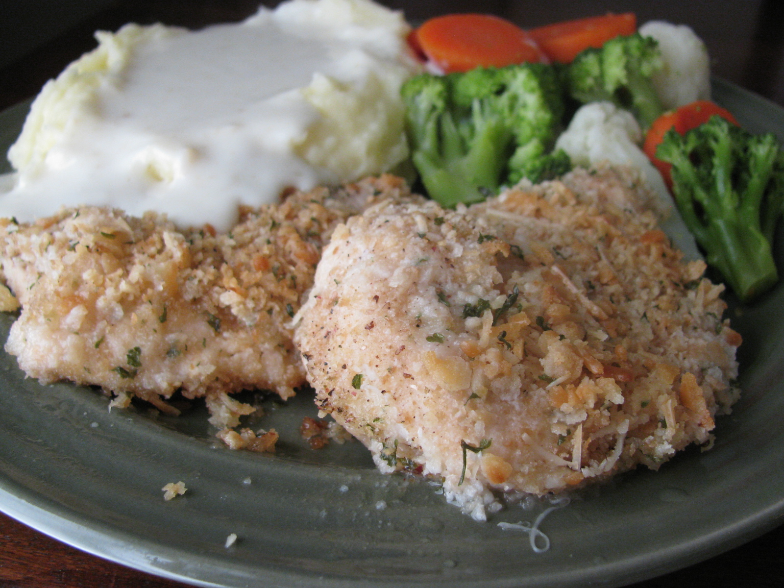 Anissa's Kitchen: Ritzy Parmesan Chicken