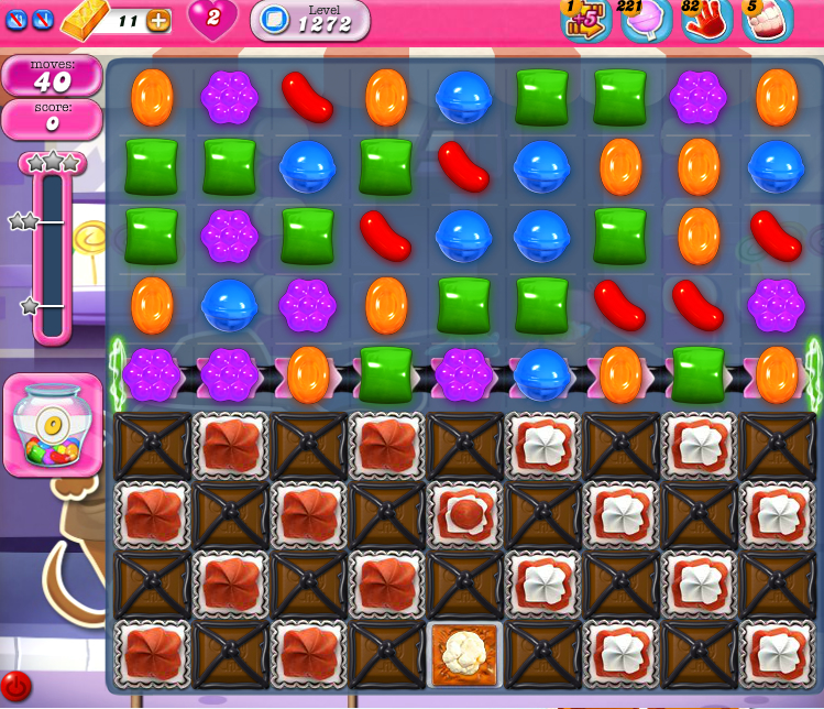 Candy Crush Saga 1272