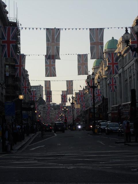 UK flags London