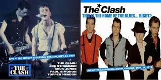 Cover Album of The Clash - This is the home of the blues right?