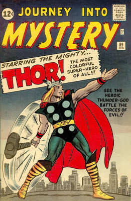 Journey into Mystery #89, Thor swings his hammer