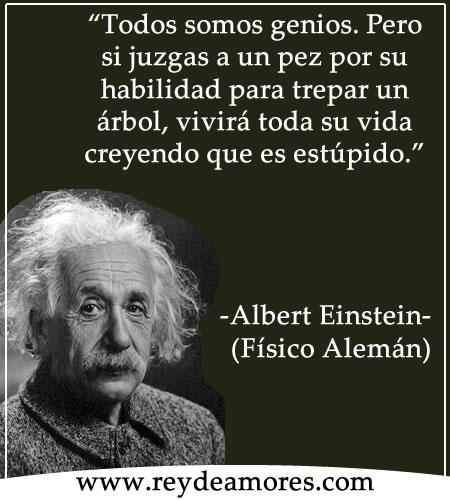 Albert Einstein Frases