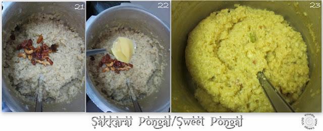 Sakkarai-pongal-without-milk