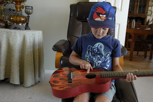 toy guitar for grandson