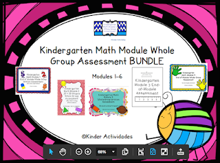 https://www.teacherspayteachers.com/Product/Kindergarten-Math-Module-Whole-Group-Assessment-BUNDLE-2084122