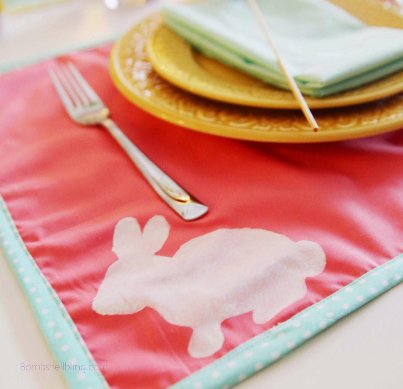 Tutorial for making placemats