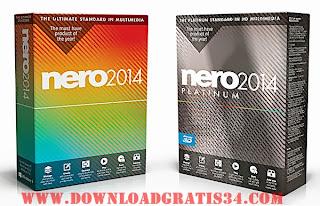 DOwnload Nero untuk bakar file ke kaset
