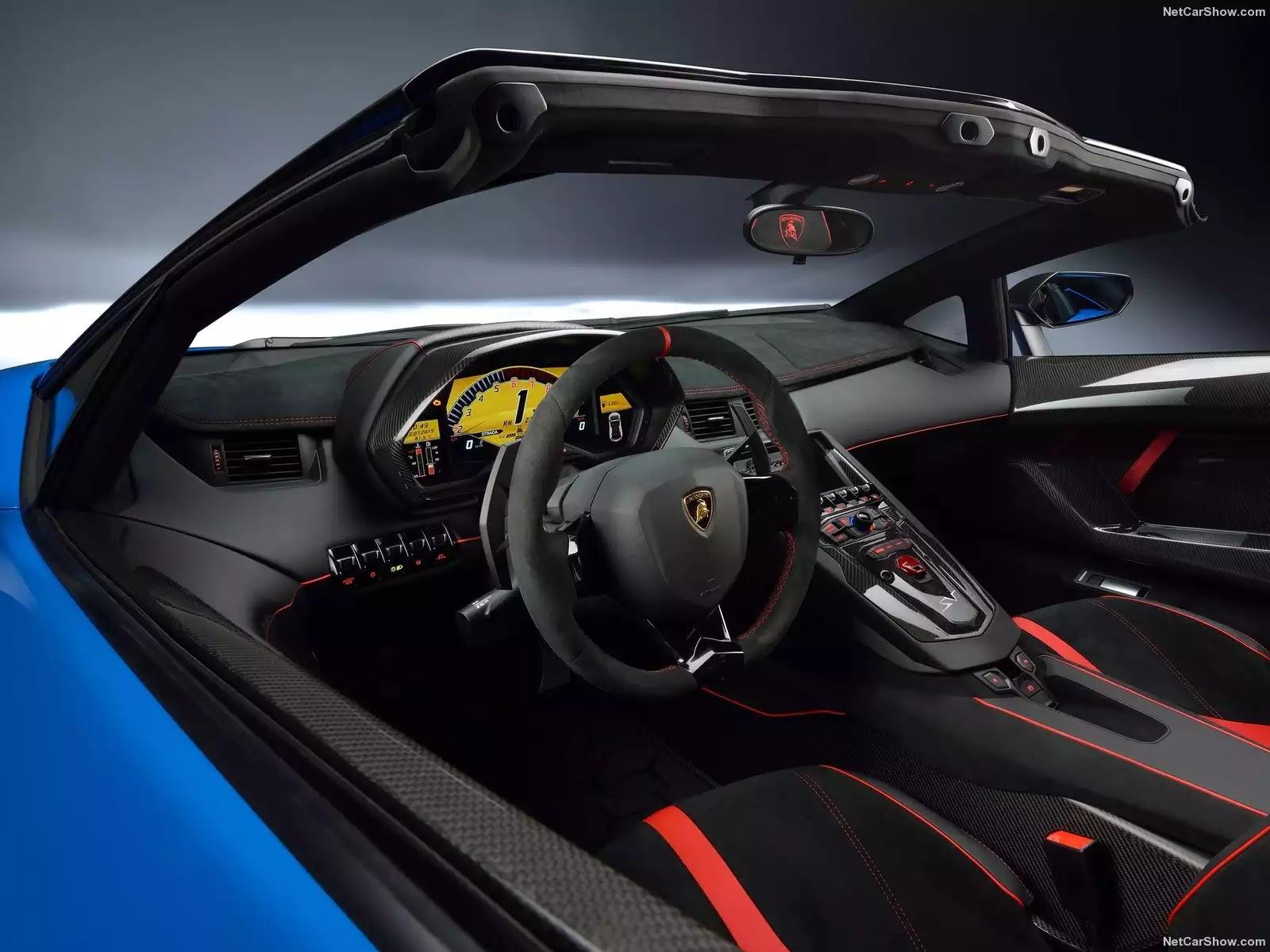 Hình ảnh siêu xe Lamborghini Aventador LP750-4 SV Roadster 2016 & nội ngoại thất