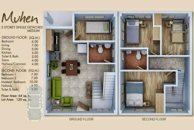 Mactan ajoya subdivision muhen cebu best properties for Modern house design for 50 sqm lot