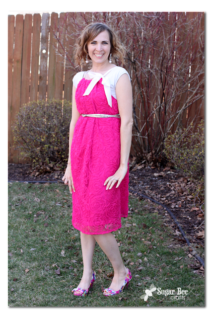 Adult Lace Pillowcase Dress How-To