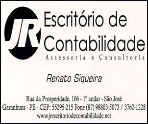 JR ESCRITÓRIO DE CONTABILIDADE - ASSESSORIA E CONSULTORIA