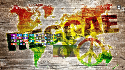 Reggae Theme For Windows 7 And 8