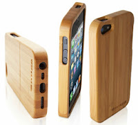 The Snug Real Bamboo Wood Case for iPhone