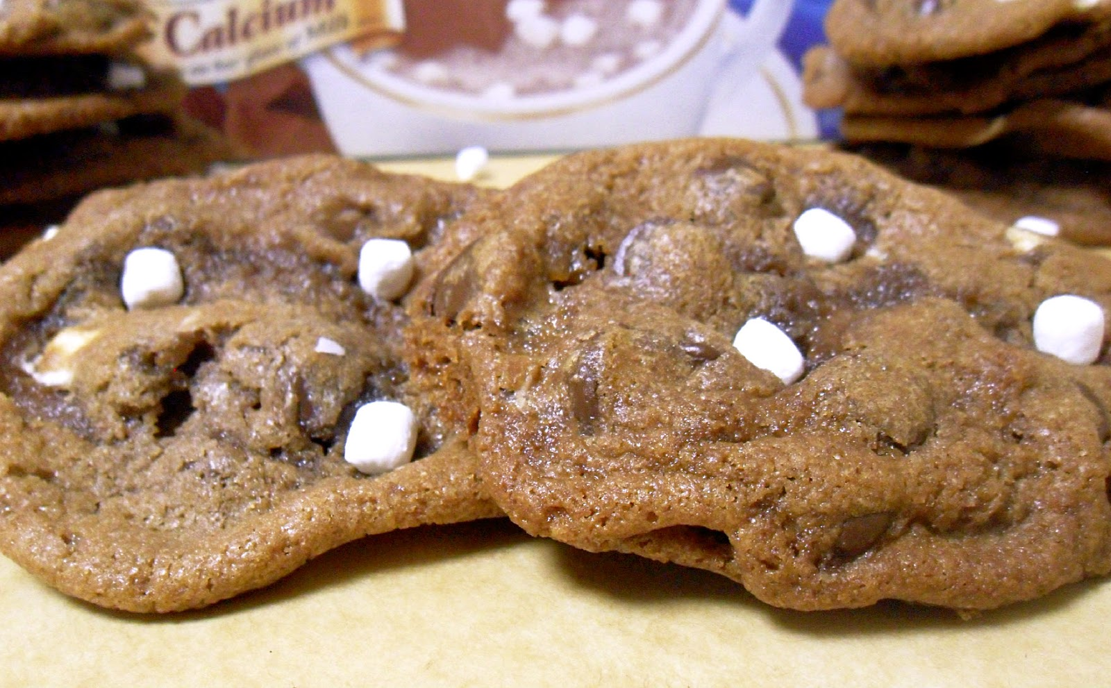 Hot Chocolate Cookies (adapted from Dinners, Dishes, and Desserts )