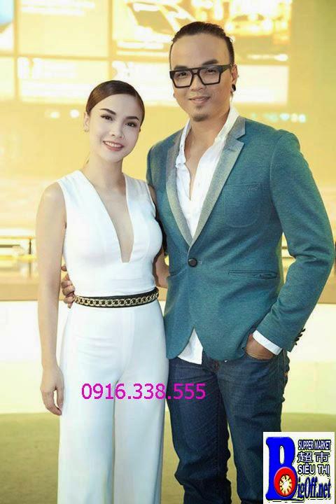 Đồ Bay Jumpsuit Trắng Ca Sỹ Yến Trang