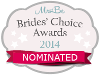 NOMINATED FOR MRs2Be Bride's Choice Awards