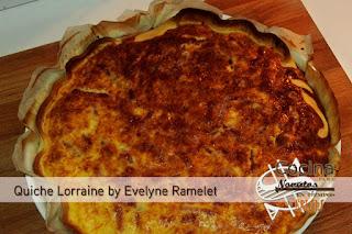 Quiche Lorraine Evelyne Ramelet