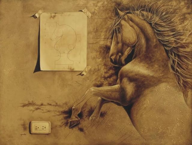 surrealismo-al-oleo-con-caballos