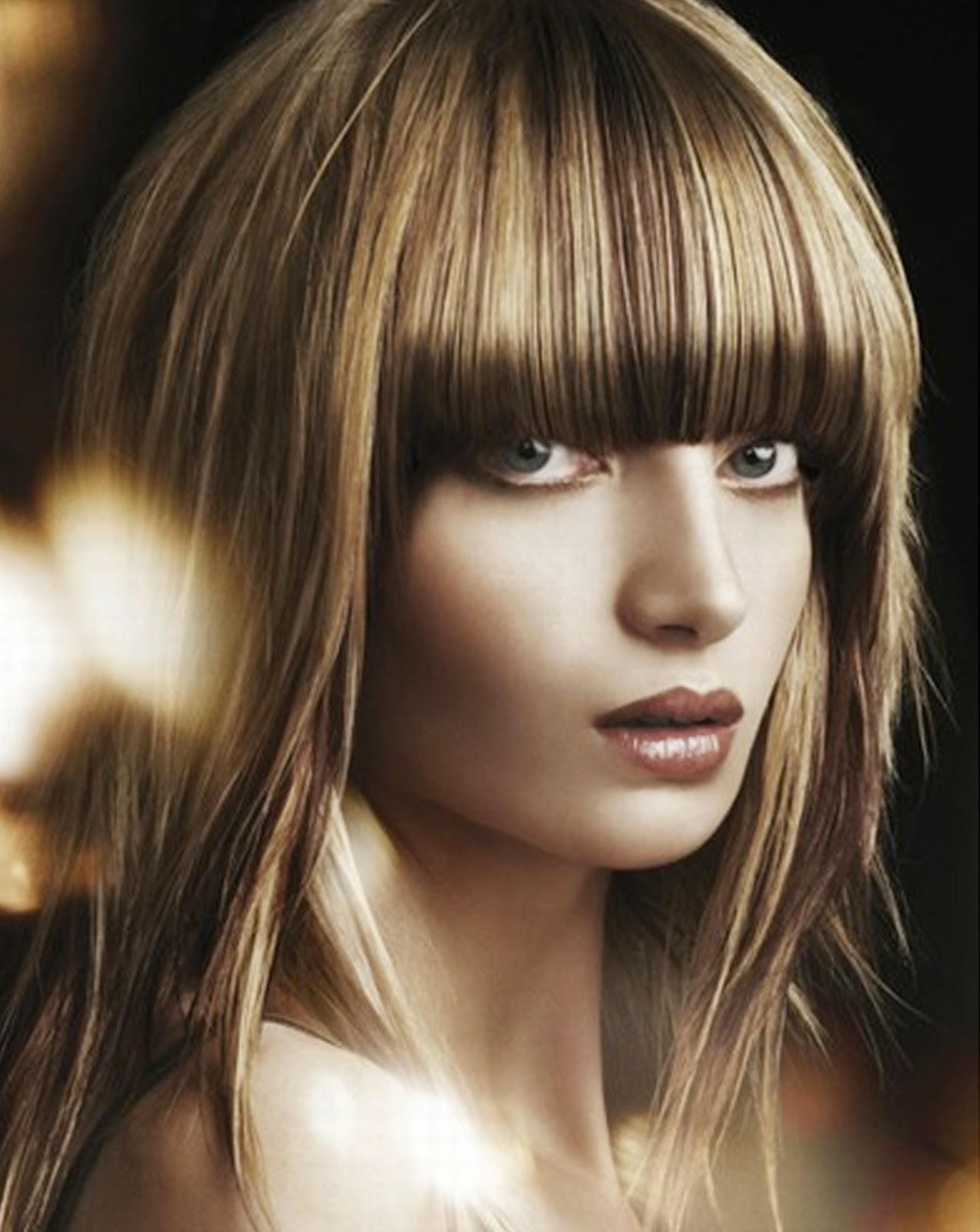 Model rambut pendek panjang untuk wajah bulat pria wanita