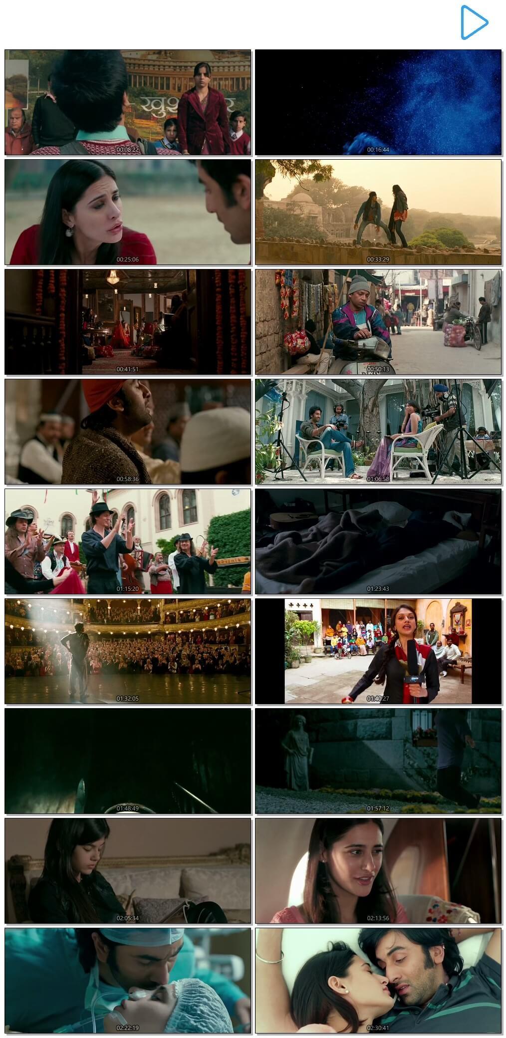 Screen Shot Of Rockstar 2011 300MB BRRip 480P Full Hindi Movie Watch Online Free Download