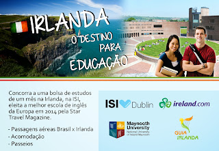 Promoção 'Irlanda - O destino para educação'