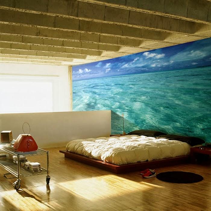 Decoracion actual de moda paisajes en las paredes for Paredes decoradas con fotos