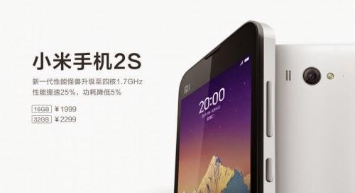 Harga dan Spesifikasi Xiaomi Mi 2S Terbaru