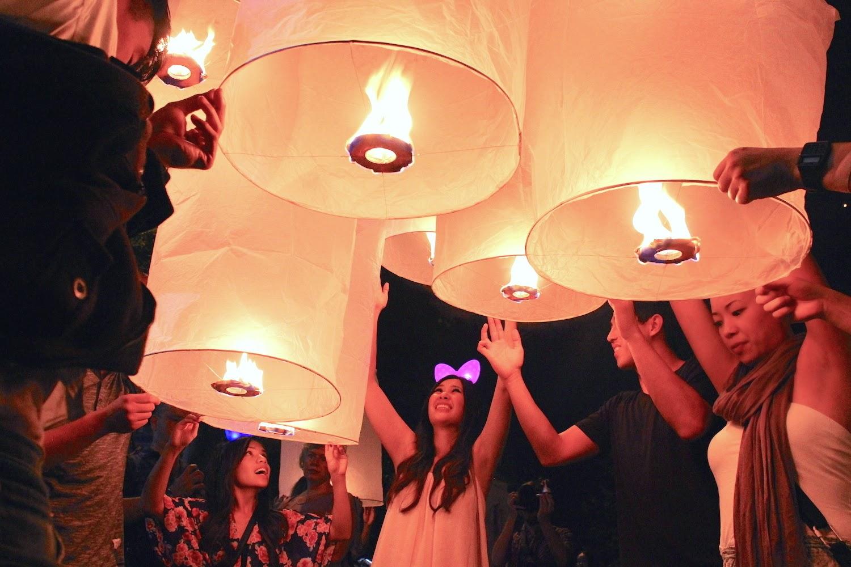 Vola lanterna, vola - foto di Elisa Chisana Hoshi